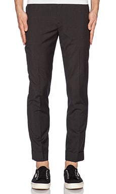 ATM Anthony Thomas Melillo Slim Pant in Pin Stripe