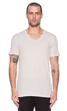 ATM Anthony Thomas Melillo V Neck in Stone