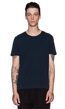 ATM Anthony Thomas Melillo Classic Tee in Navy
