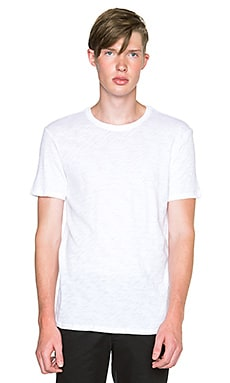 ATM Anthony Thomas Melillo Basic Slub Crewneck in White