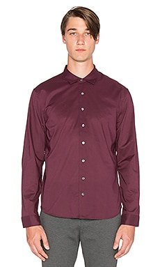 ATM Anthony Thomas Melillo Classic Dress Shirt in Burgundy