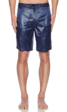 ATM Anthony Thomas Melillo Nylon Swim Short in Navy