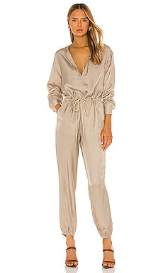 Micro Twill Jogger Jumpsuit ATM Anthony Thomas Melillo $273