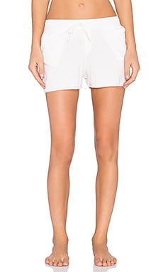 ATM Anthony Thomas Melillo Lounge Short in Faded Rose