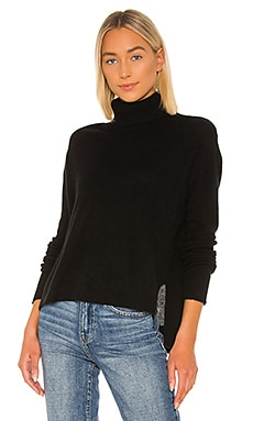 Cashmere Wide Turtleneck Sweater ATM Anthony Thomas Melillo $395 BEST SELLER