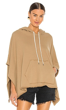 French Terry Hooded Poncho ATM Anthony Thomas Melillo $295