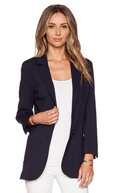 ATM Anthony Thomas Melillo Bf Blazer in Navy