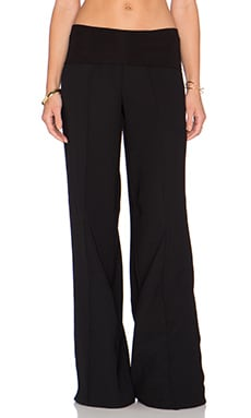 ATM Anthony Thomas Melillo Palazzo Pull On Pant in Black