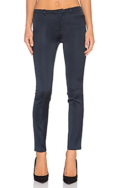 ATM Anthony Thomas Melillo Western Pocket Satin Pant in Navy