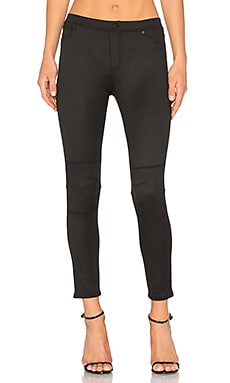 5 Pocket Moto Legging in Black