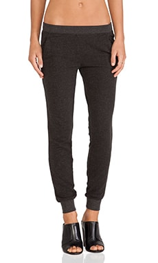 Slim Sweat Pant en Anthracite Chiné