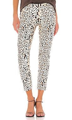 Leopard Print Cotton Slim Pant ATM Anthony Thomas Melillo $166