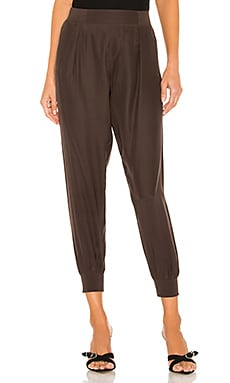 Woven Pull On Silk Pants ATM Anthony Thomas Melillo $275 NEW ARRIVAL