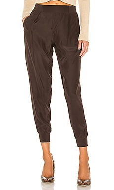 Woven Pull On Silk Pants ATM Anthony Thomas Melillo $275