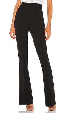Stretch High Waist Flare Pant ATM Anthony Thomas Melillo $375 NEW