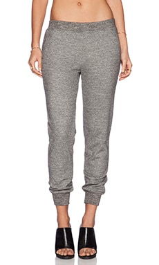 ATM Anthony Thomas Melillo Fleece Sweatpant in Heather Grey