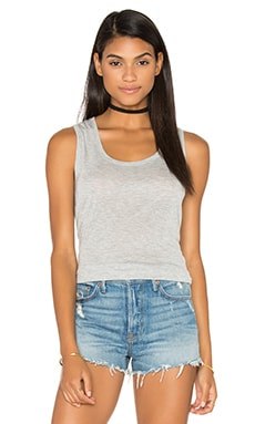 Sweetheart Tank Top in Heather Grey