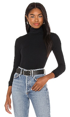 Micro Modal Rib Turtleneck ATM Anthony Thomas Melillo $165