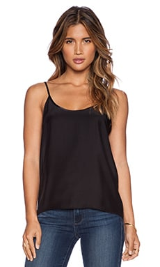 ATM Anthony Thomas Melillo Silk Cami in Black