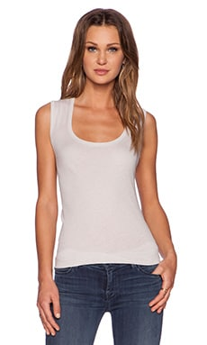 ATM Anthony Thomas Melillo Sweetheart Tank in Stone