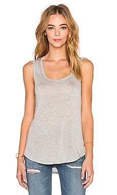 Sweetheart Tank in Grau meliert