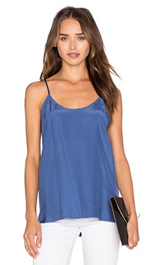 ATM Anthony Thomas Melillo Silk Cami in Cobalt