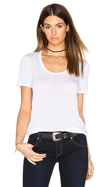 Sweetheart Tee in White