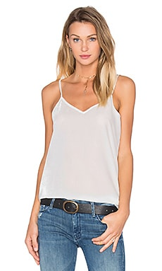 Feather Weight Velvet Cami in Ecru