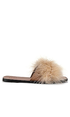 Farro Short Feather Sandal ATP Atelier $520