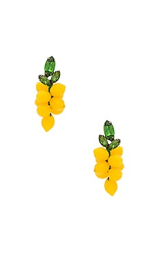 Limoncello Earrings in Yellow