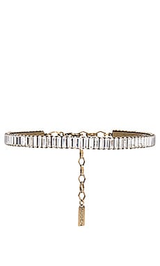 Stella Choker in Brass