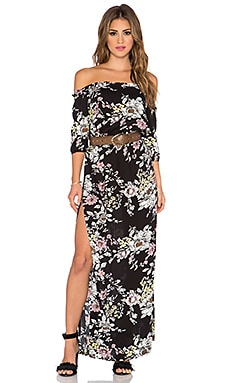 AUGUSTE Gypsy Maxi Dress in Night Bloom