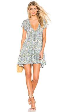 Ophelia Matilda Babydoll Mini Dress AUGUSTE $145