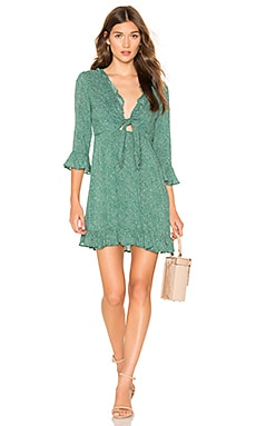 Diamond Rumba Sleeved Mini Dress AUGUSTE $53