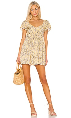 X REVOLVE Olsen Belle Mini Dress AUGUSTE $145
