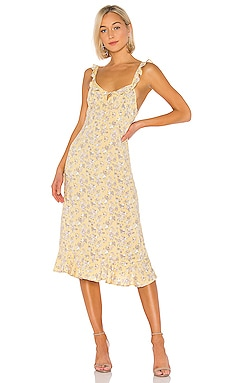 5d5a91b83df1 X REVOLVE Olsen Love Midi Dress AUGUSTE $165 ...