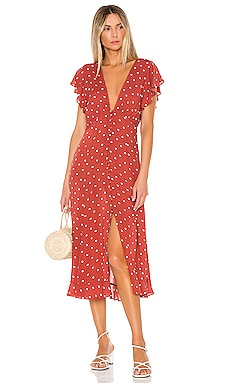 Polly Sunday Midi Dress AUGUSTE $179