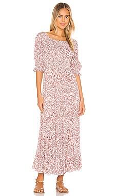 Freya Lise Sleeved Maxi Dress AUGUSTE $189