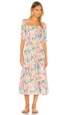 Posie Abigail Midi Dress AUGUSTE $126