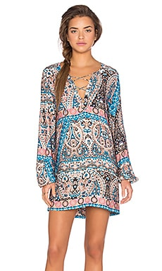 AUGUSTE Gypset Shift Dress in Nirvana