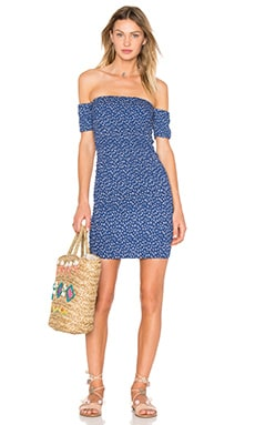 AUGUSTE Cocktail Mini Dress in Navy
