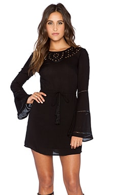 AUGUSTE Bella Dress in Black