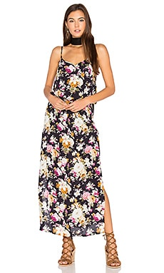 Dusk Backless Split Maxi Dress