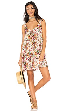 Long Beach Market Day Dress in Long Beach Floral Natural