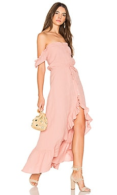 Willow Day Dress en Blush
