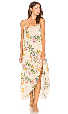 Delilah Slip Maxi Dress in Delilah Bloom Natural