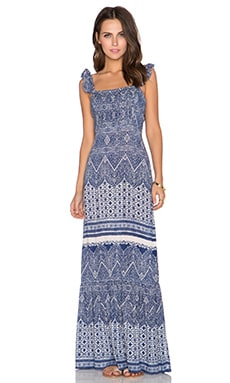 AUGUSTE x REVOLVE Little Lady Maxi Dress in Navy Wonder
