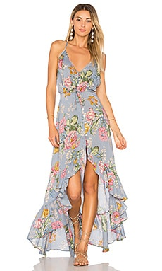 x REVOLVE Havana Nights Backless Splash Dress