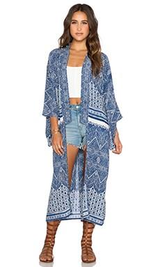 AUGUSTE Kimono in Navy Wonder