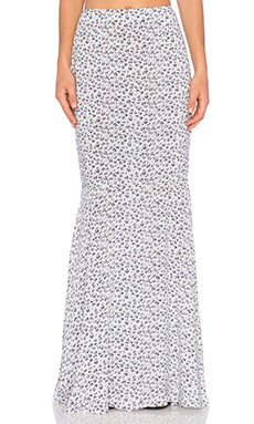 AUGUSTE Sun Dancer Maxi Skirt in Secret Garden